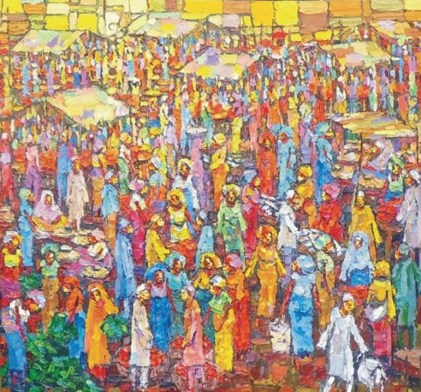 Market Day (95 x112)
